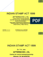 Indian Stamp Act 1899