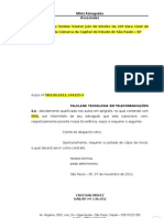Modelo de petição de juntada