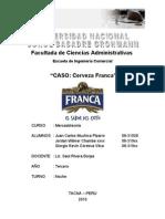 Caso - Cerveza Franca