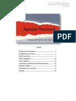 121209 Agenda Nacional