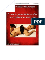 7 Pasos Para Dar Sexo Oral a Una Mujer