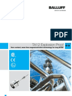 886910 TA12 Explosion Proof Linear Position Transducer Brochure