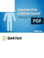 HCL Technologies -  Employee First Customer Second