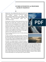 Salient Features of Existing & Proposed Dams in Pakistan