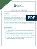 Business Etiquette Diplomacy Protocol Aug 2-4