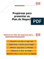 Preparese Para Presentar Plan Negocio