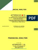 Finanacial Analysis