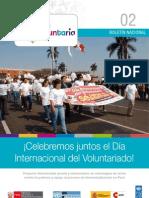 Boletín Soy Voluntarix Número 02 -  Edición Diciembre 2012