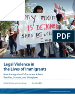 Legal Violence in the Lives of Immigrants