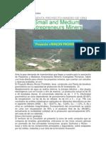 Oportnuidad Para Empresas OFERTA Proyecto Minero de Oro