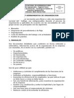 TÉCNICAS Y HERRAMIENTAS DE ORGANIZACION
