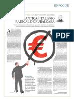 El anticapitalismo radical de Rubalcaba