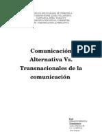 Informe de Comunic Alternativa y Transnacionales Noviembre