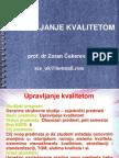 Upravljanje kvalitetom - skripta