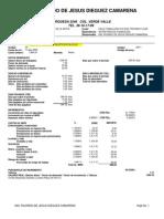 Analisis de Factor de Salario Real