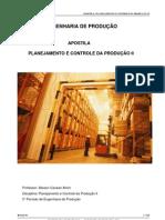 [Apostila] Planejamento e Controle da Produção II (Alisson Canaan Alvim)