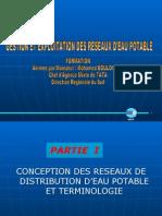 GESTION ET EXPLOITATION DES RESAUX D'EAU ¨POTABLE1