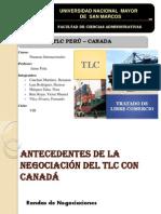TRABAJO FINAL TLC Perú - Canada