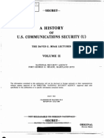NSA a History of U S Communications Security Volume II