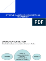 8 Effective Classroom Communication & Management