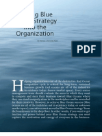 Driving Blue Ocean Strategy Into the Organization