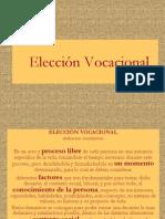 eleccion vocacional