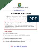 Modelos Gerais Procurações Públicas