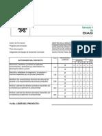 Cronograma de Actividades del Programa Confecci¢n Industrial.