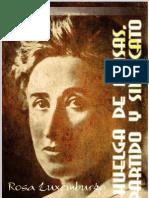 210150 Rosa Luxemburgo Huelga de Masas Partido y Sindicatos