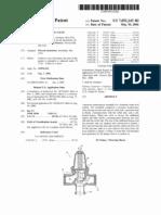 Pressure regulating valve (US patent 7052243)
