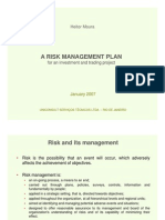 Heitor Moura 2007 Risk Management for private equity investments