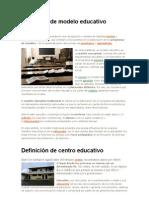 Definición de modelo educativo