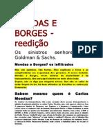 Moedas e Borges --  reedição