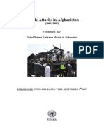 Suicide Attacks in Afghanistan (2001-2007).