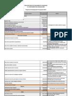 Programa de Reasignación Presupuestal 2013