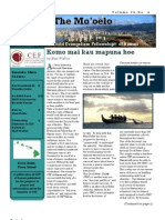 CEF Hawaii Newsletter