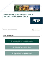 5. Tao Wang - World Bank Experience on Carbon Finance Operations in Biogas