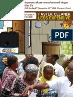 1. Sanne Castro - Product Development of Pre-manufactured Biogas Plants