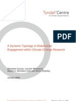 A Dynamic Typology of Stakeholder Engagement within Climate Change Research