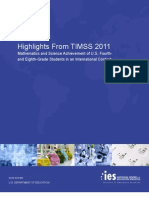 Highlights From TIMSS 2011