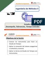 T 1.2 - IM II - UPN - Estudio de Tiempos - Estudio de Tiempos Con Instrumentos