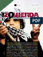 Revista Izquierda Edición 29, Noviembre 2012