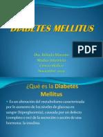 Diabetes Charla Pacientes