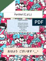 Partikel Dalam Bahasa Jepang