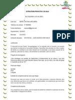 Estructura Definitiva Del Proyecto Maria Cristina