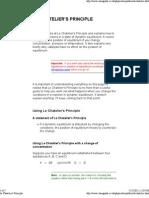 Le Chatelier_s Principle