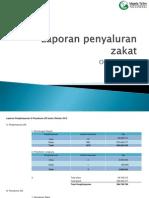 Laporan Penyaluran Zakat Oktober 2012