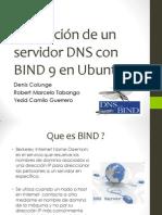 Instalación de un servidor DNS con BIND 9