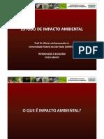 Estudos de Impacto Ambientalx