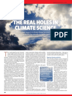 Holes in Climate Science